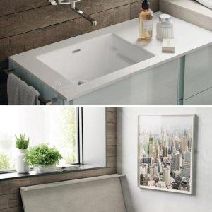 vasca da bagno in ghisa verniciata e in stile come i classici piedini per la dimensione ridotta perfetta a parete o in centro stanza
