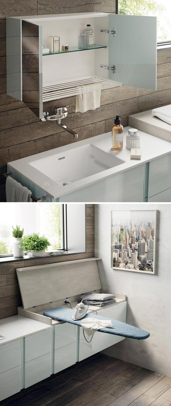 Soluzioni per un bagno piccolo piccolo cose di casa for Bagni belli