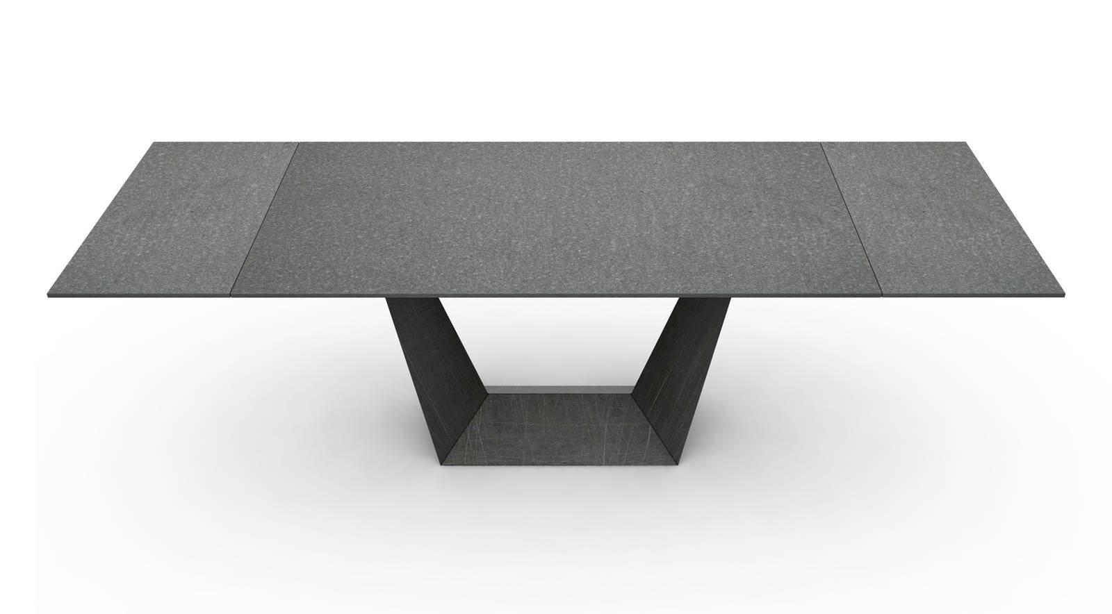 I tavoli al salone del mobile 2017 cose di casa - Tavolo pranzo dimensioni ...