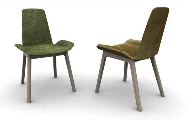 Zoe di Domitalia è la sedia che ha una uno schienale alto e ampio che la rende molto accogliente e originale nella forma; le due particolari ali laterali accolgono le gambe e ne aumentano il comfort.  www.domitalia.it