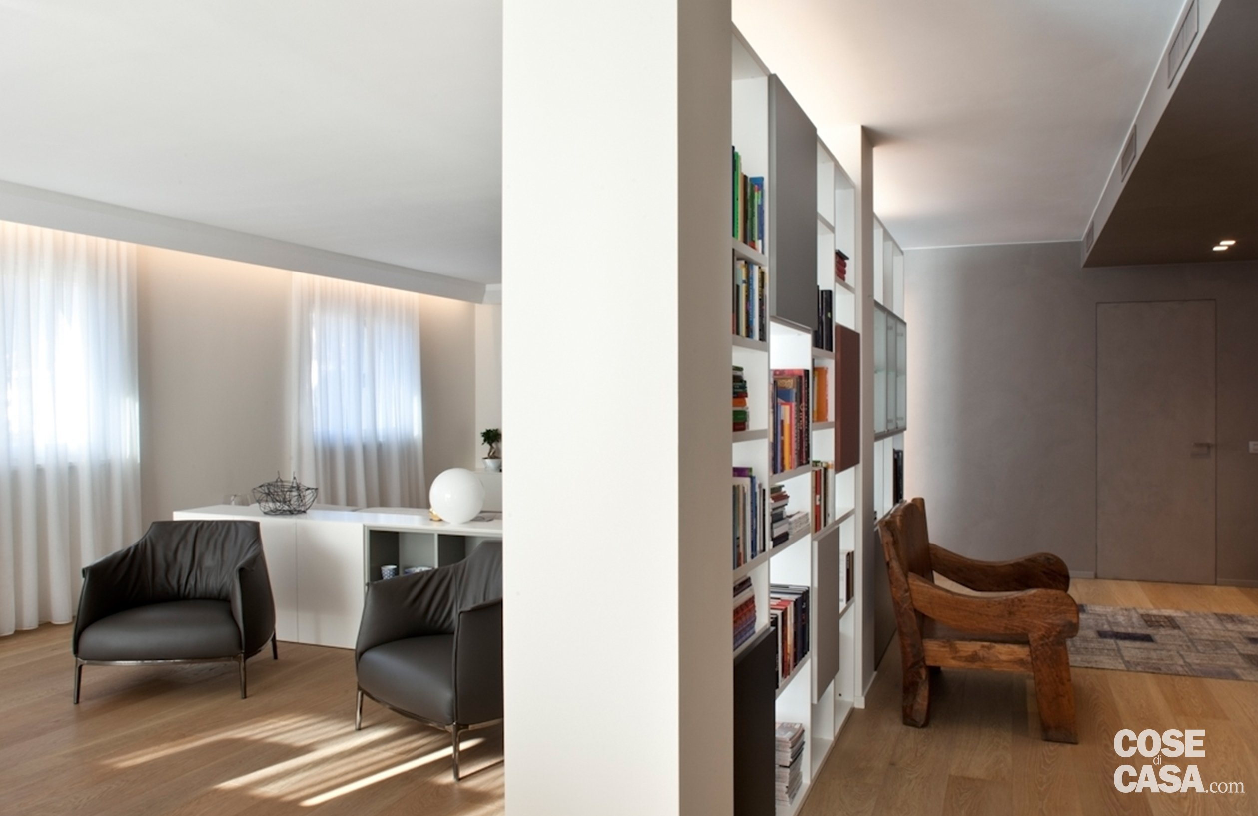Soluzioni da copiare nella casa con percorso di piastrelle