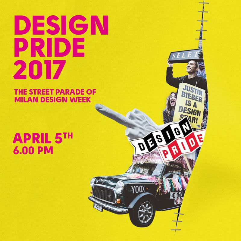 Design pride alla milano design week 2017 for Design pride milano