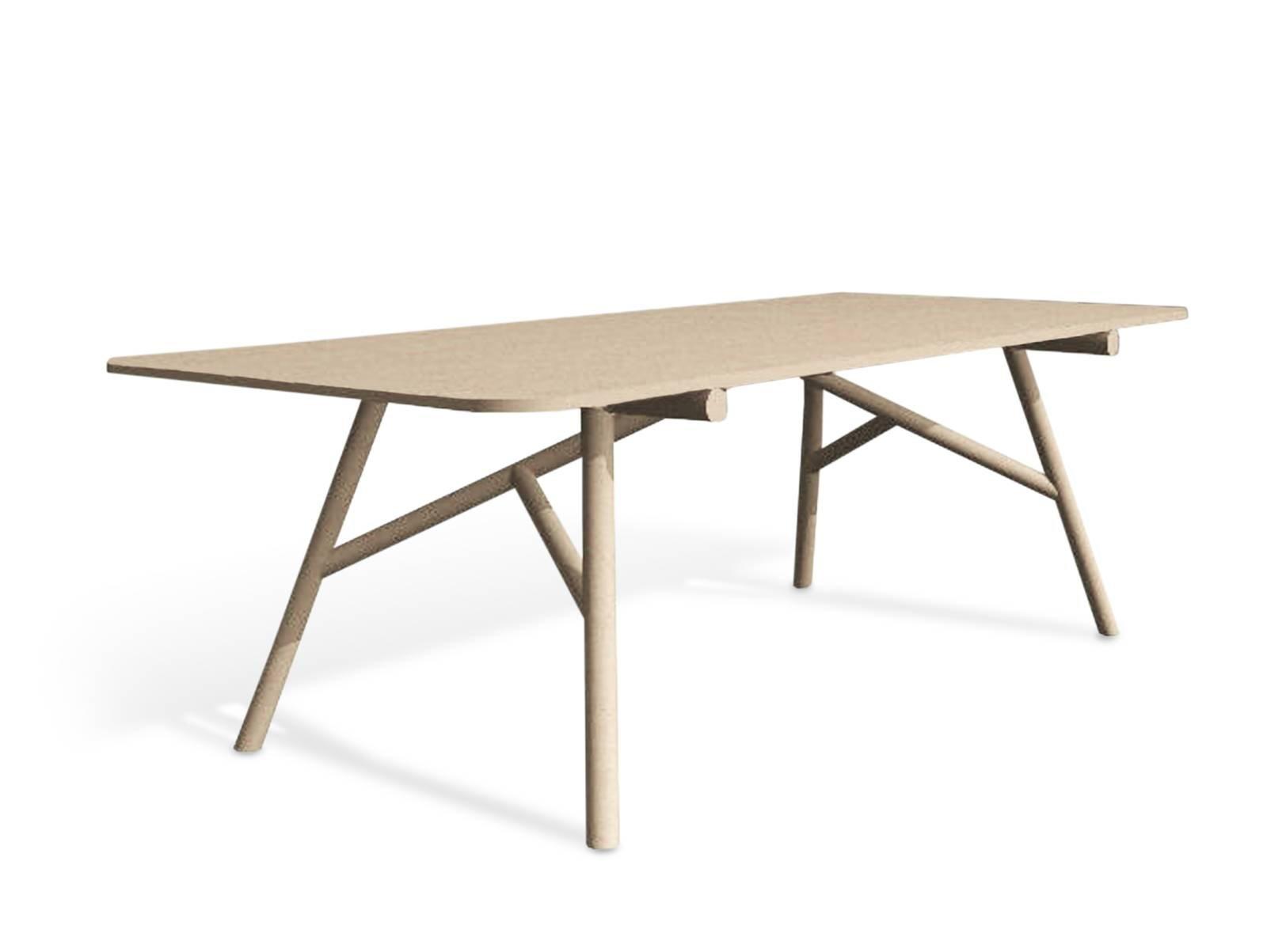 Piani sottili per i tavoli al salone del mobile 2017 for Tavolo salone