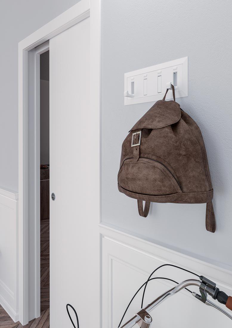Come Montare Un Controtelaio come sfruttare la parete che ospita la porta scorrevole