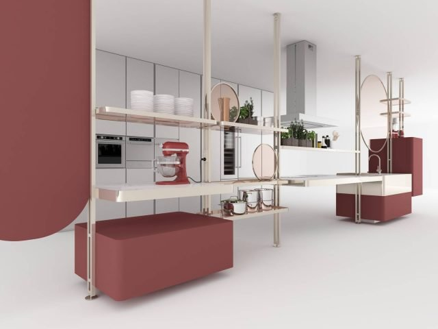 Il progetto di Bernhardt & Vella per The Serious about Food Kitchen Lab by KitchenAid