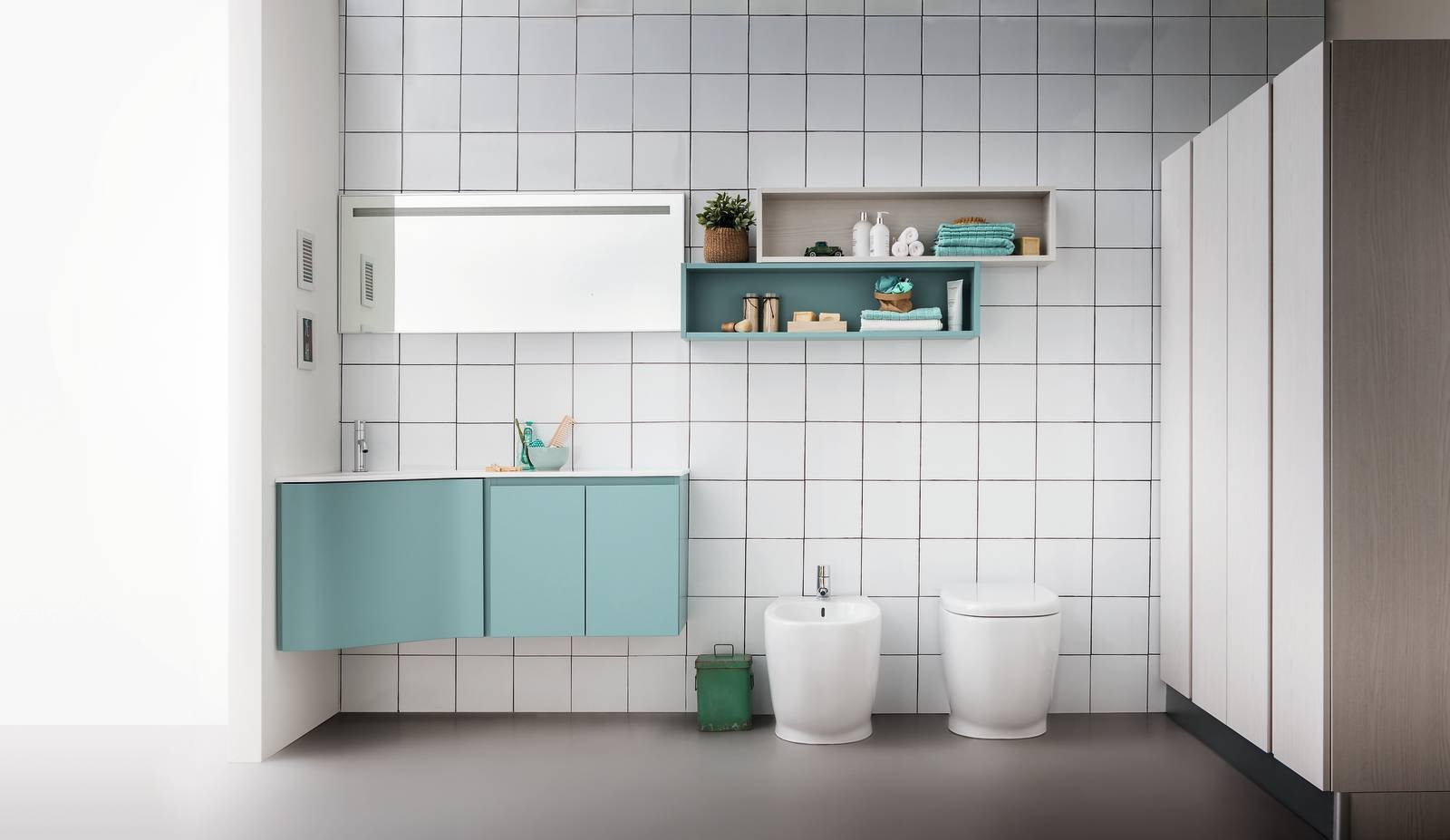 Vasca Da Bagno Piccole Dimensioni 120 : Soluzioni per un bagno piccolo piccolo cose di casa