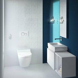Geberit AquaClean Tuma: soluzione ideale per bagno mini.