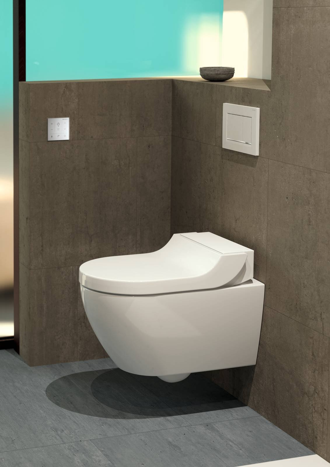 novit geberit il wc bidet aquaclean tuma anche in versione per vasi esistenti cose di casa. Black Bedroom Furniture Sets. Home Design Ideas