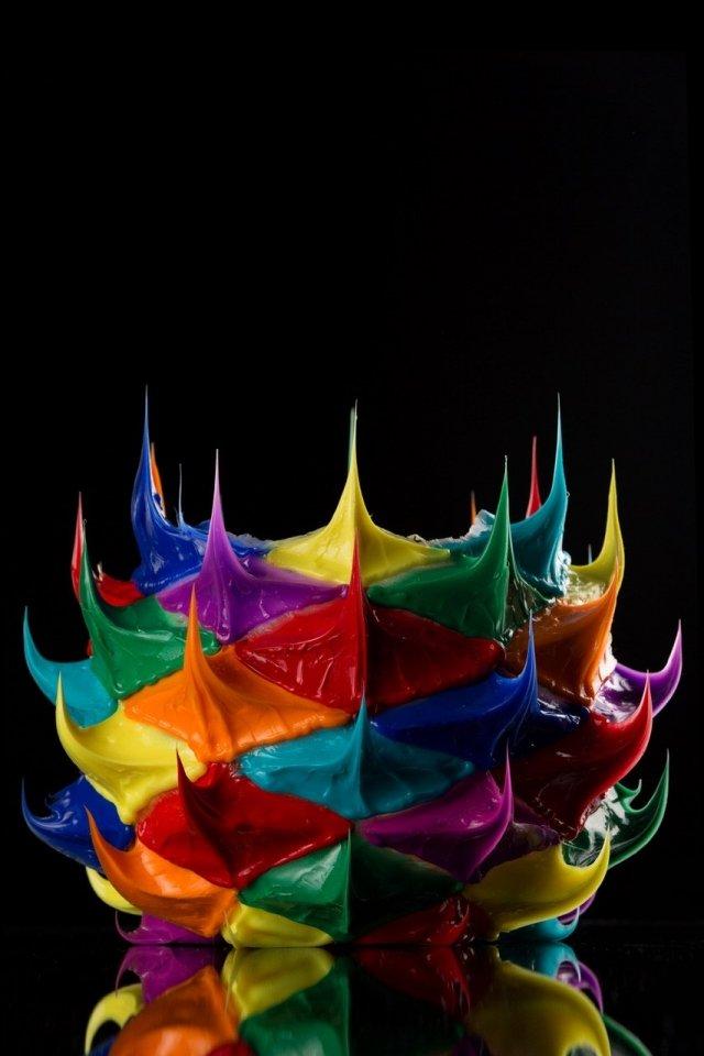 Una delle installazioni sviluppate seguendo il tema Time to Color del Superdesign Show di Superstudio.