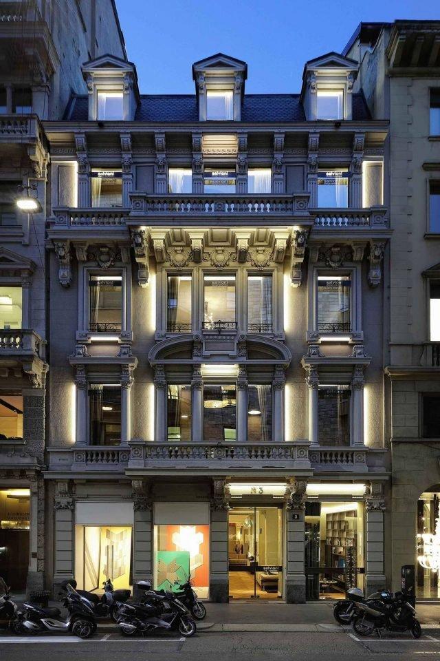 Appuntamento con lo showroom del design in via Durini: Salvioni Durini.