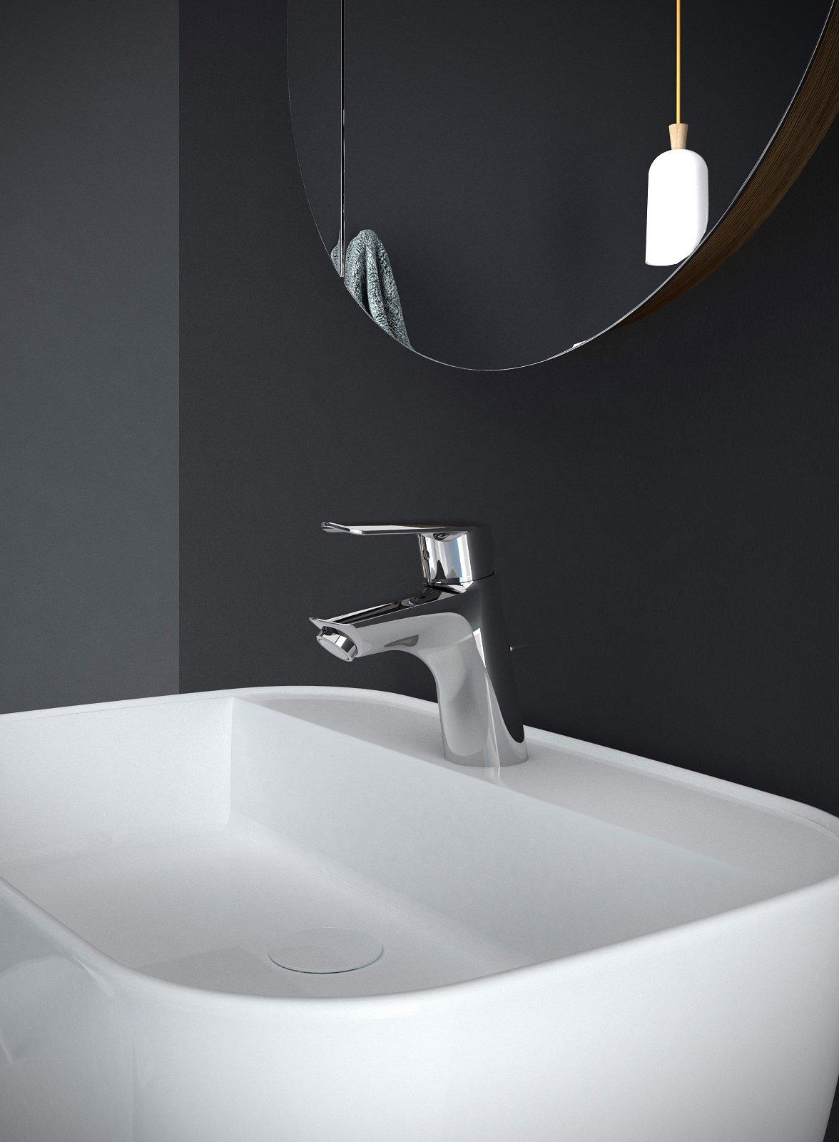 Risparmio d acqua ed energia e un piacevole design sono i for Rubinetti per lavabo
