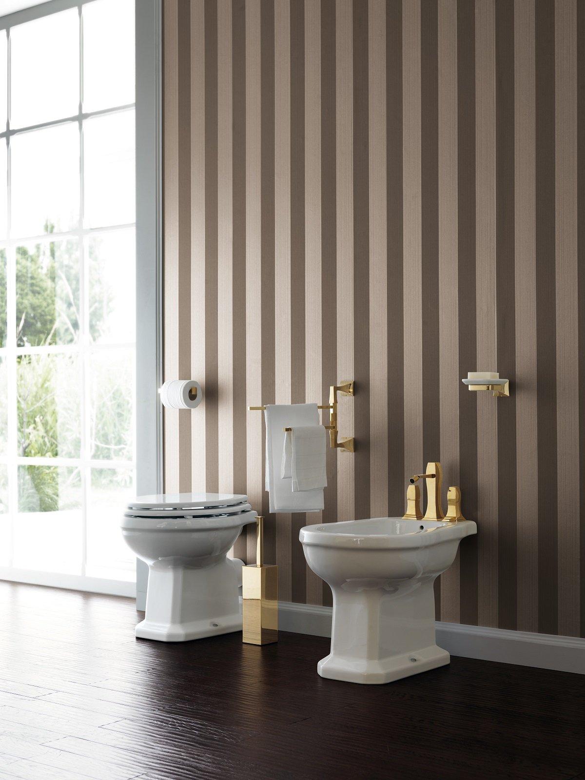 Realizzare un raffinato ambiente bagno di gusto romantico - Sanitari stile antico ...