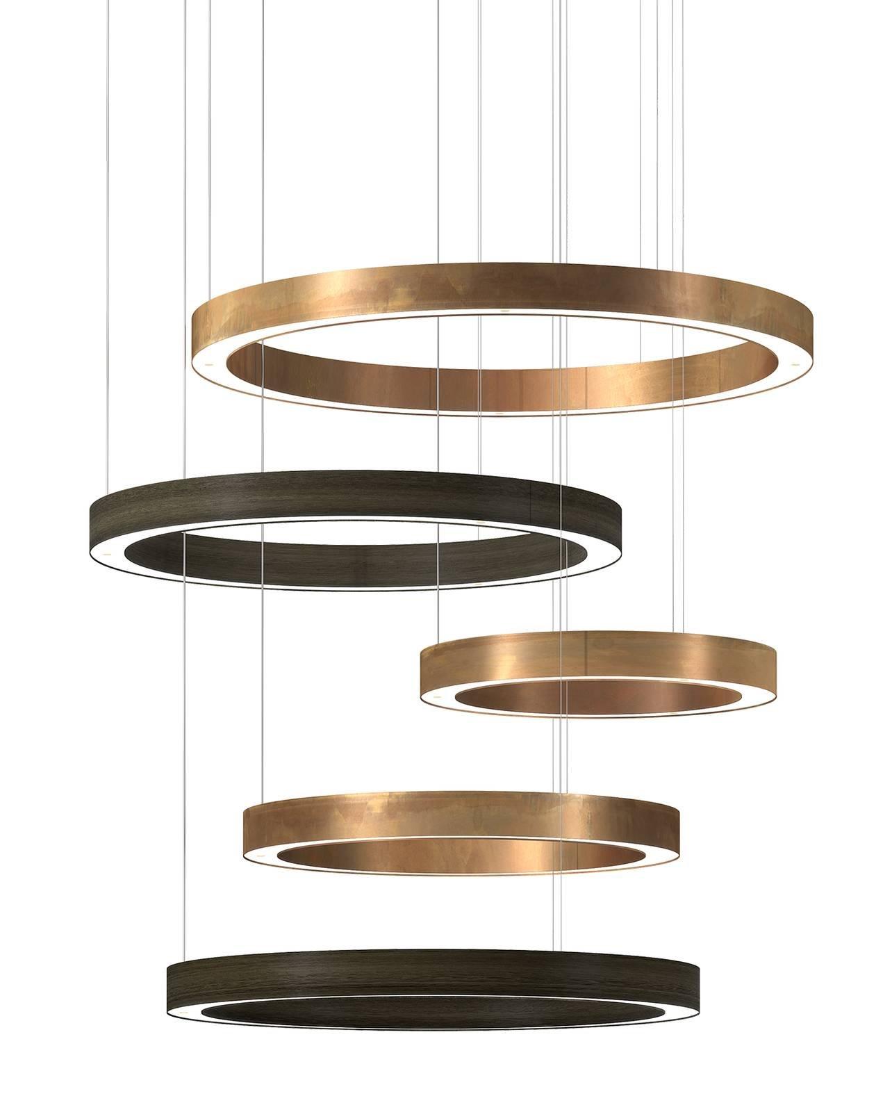 Euroluce 2017 lampadari a sospensione cose di casa for Lampadari con lampade a led
