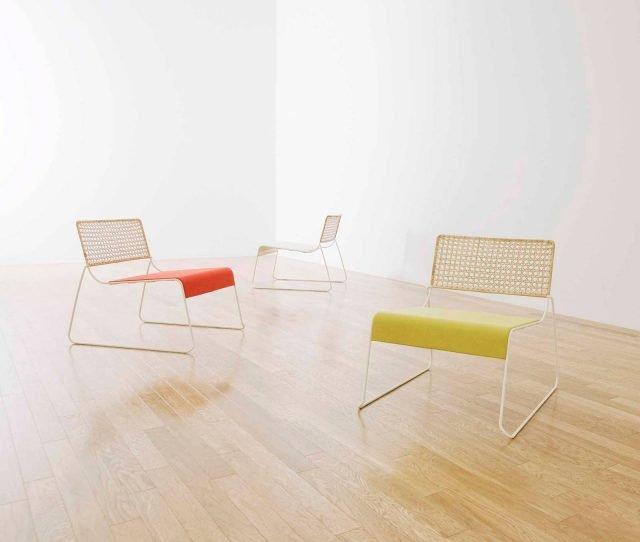 La sedia Brio disegnata da Mikiya Kobayashi e prodotta da Covo.