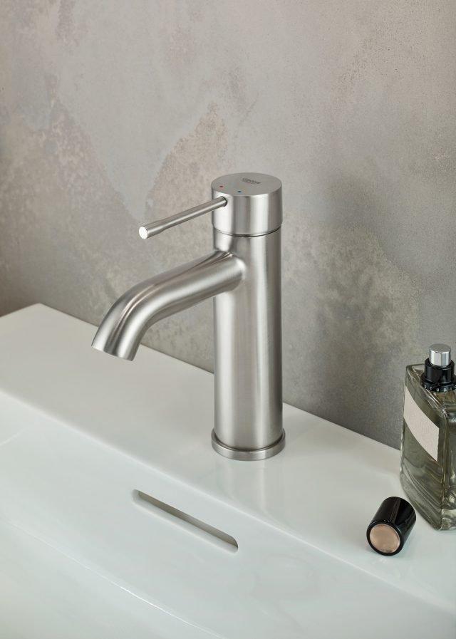 4 grohe essence supersteel rubinettiperlavabo