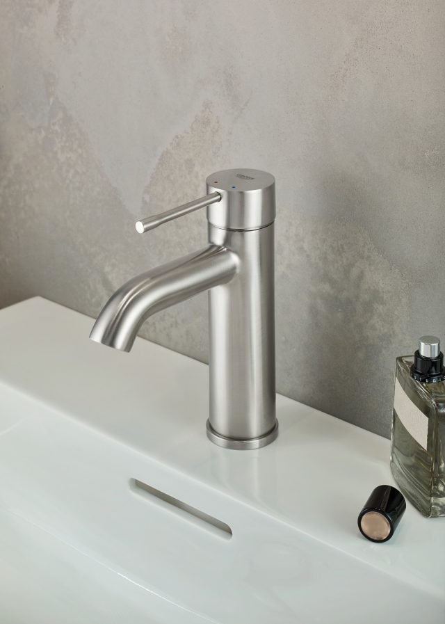 4 grohe essence supersteel rubinettiperlavabo