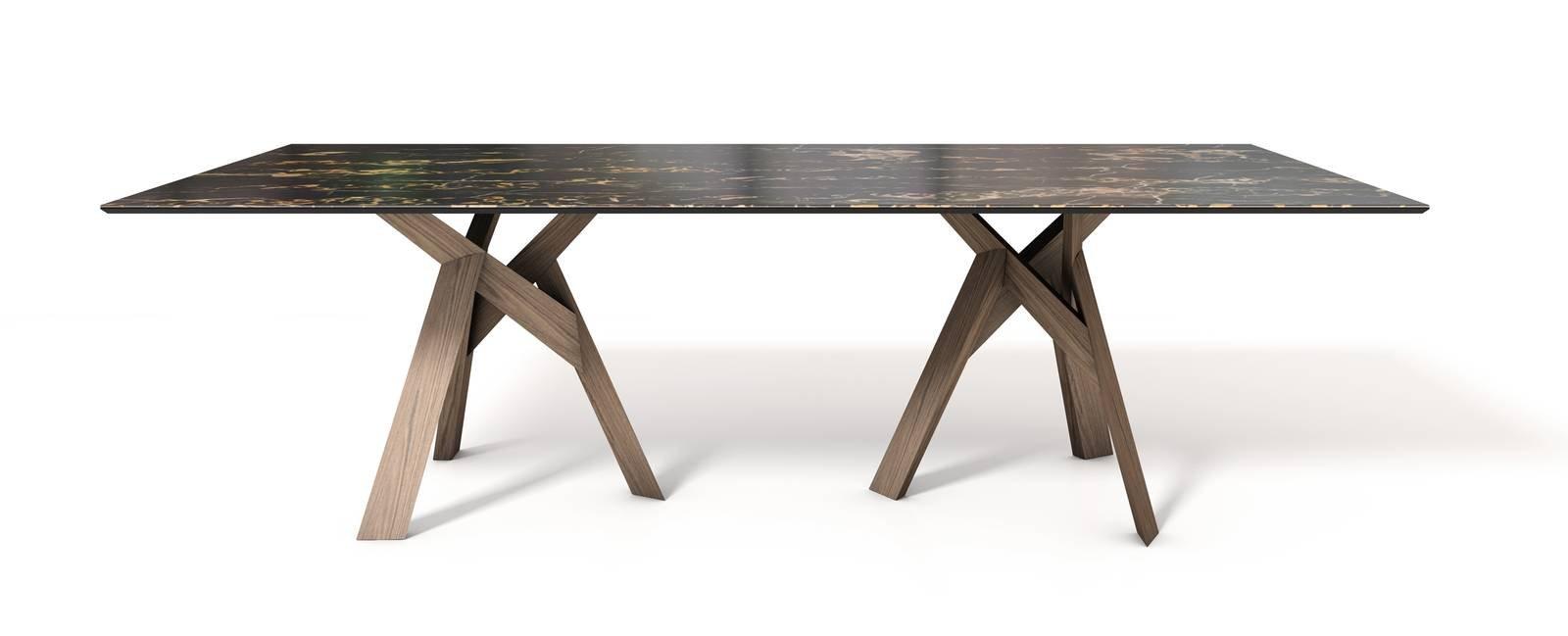I tavoli al salone del mobile 2017 cose di casa for Tavolo effetto marmo