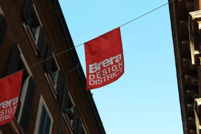 Un dettaglio del Brera Design District.