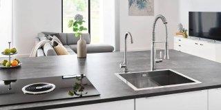 rubinetti per la cucina rubinetti per la cucina Blue® Home di Grohe, nella versione cromo costa 1.399 euro.