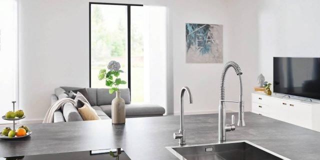 Rubinetti per la cucina miscelatori hi tech cose di casa for Bricoman rubinetti cucina