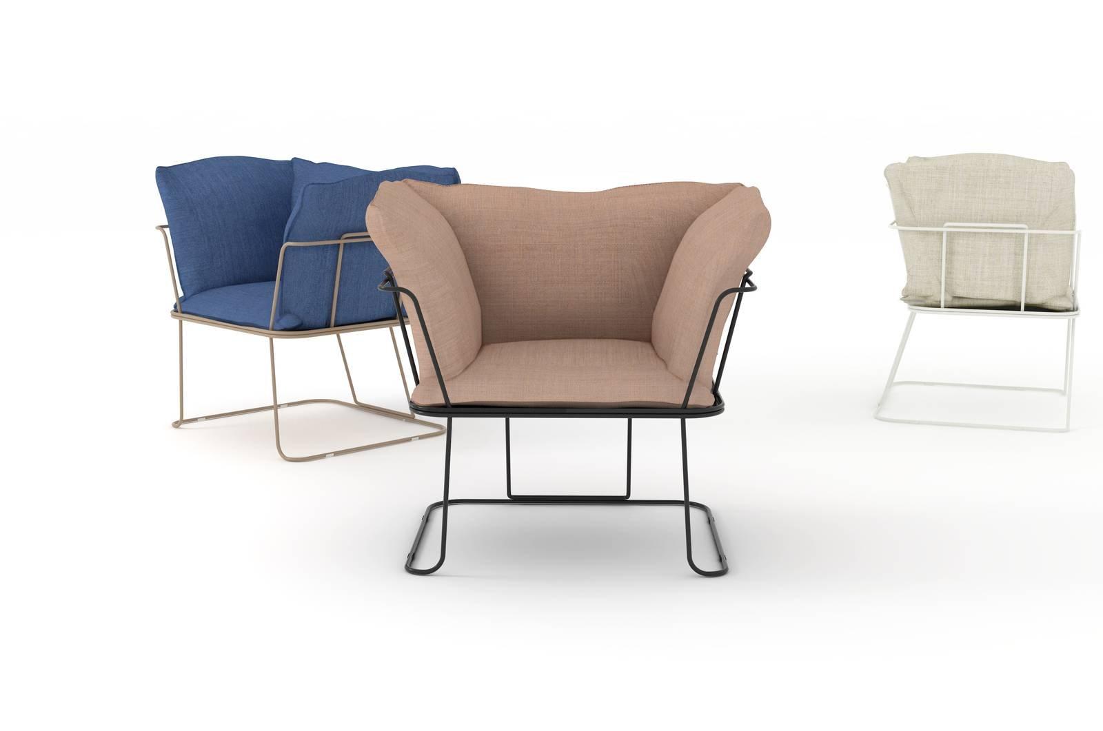 Le nuove sedie e poltroncine al salone del mobile 2017 for Poltroncine