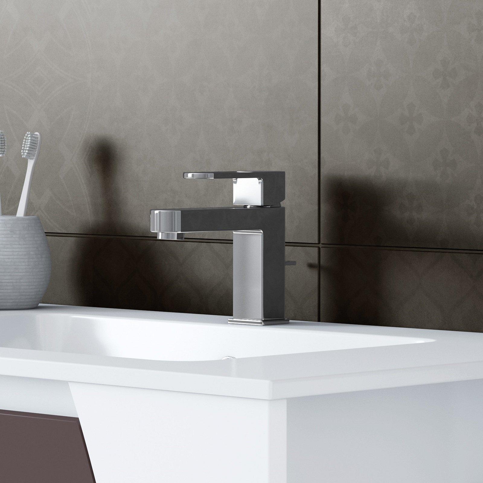 Risparmio d acqua ed energia e un piacevole design sono i - Rubinetti bagno leroy merlin ...