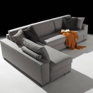Salone del mobile 2017 divani e divanetti cose di casa for Divano senza schienale
