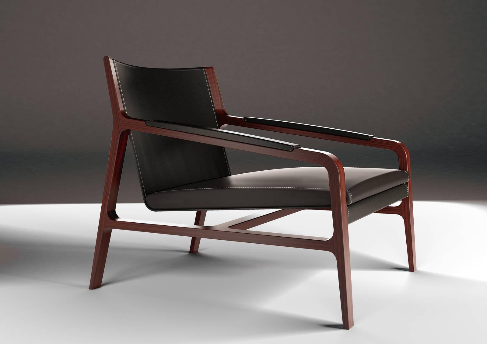 Poltroncina Cuoio Acciaio Raffaella : Le nuove sedie e poltroncine al salone del mobile