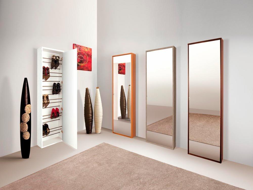 Soluzioni per un bagno piccolo piccolo cose di casa - Scarpiera con specchio ...
