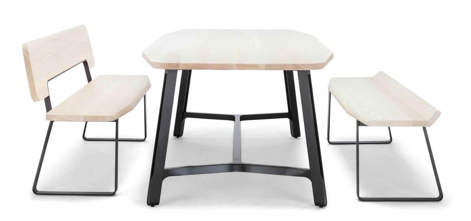 Piani sottili per i tavoli al salone del mobile 2017 for Piani di casa con suite per gli ospiti