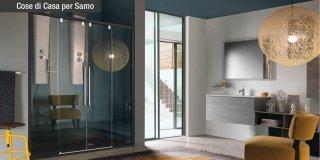 Docce Acrux di Samo: il colore diventa protagonista nel bagno