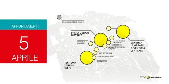Milano Design Week 2017: eventi del 5 aprile mercoledì. Cocktail e aperitivi