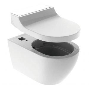 """Geberit AquaClean Tuma: sedile + vaso formano il WC-bidet completo. Invece, nella versione """"solo sedile"""" è progettato per essere aggiunto a un WC esistente e fornire le medesime prestazioni."""