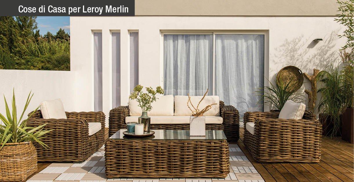 Living all 39 aperto tante idee per giardini e terrazzi for Arredo giardino leroy merlin 2017