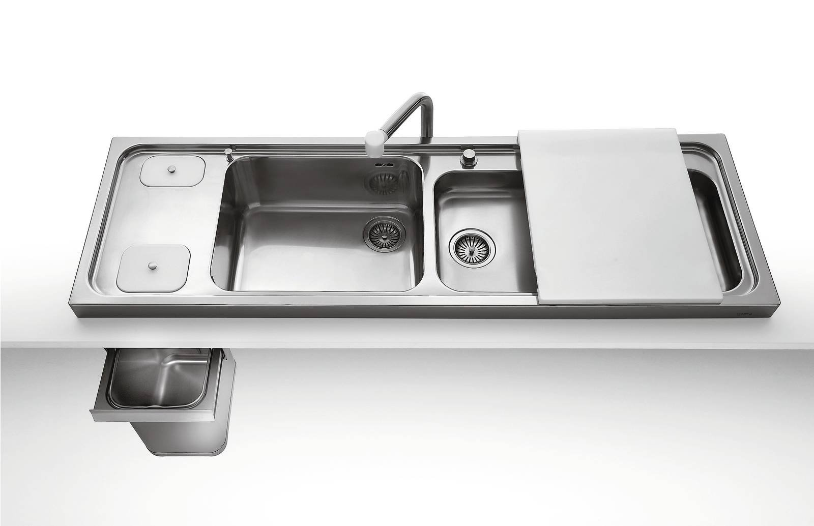 """Mobile Per Lavabo Cucina lavello: misure e aspetti pratici sul """"posto dell'acqua"""