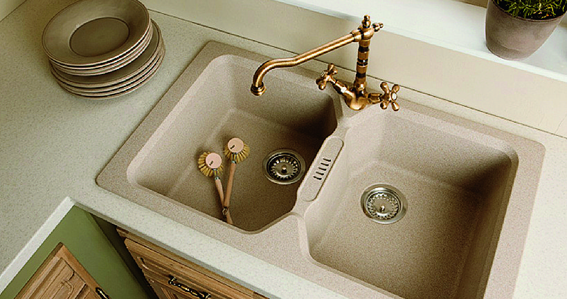 Lavello misure e aspetti pratici sul posto dell 39 acqua - Lavello cucina avena ...