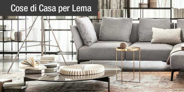 Divani Lema: l\'interpretazione del comfort - Cose di Casa