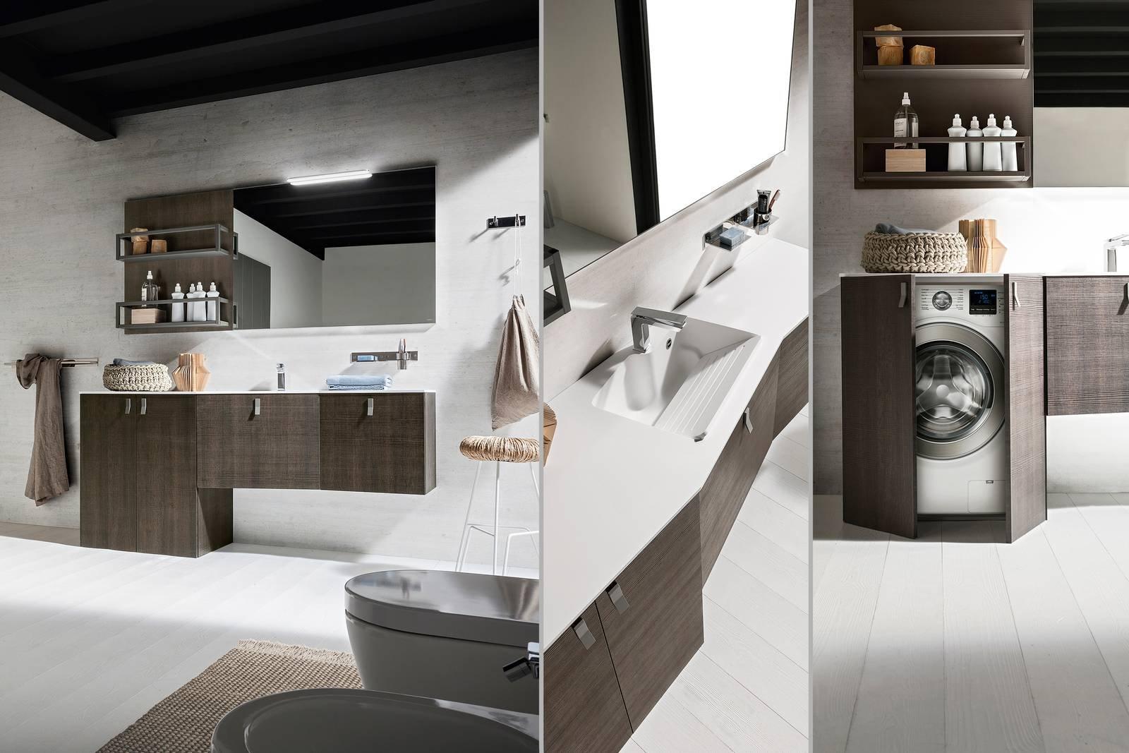 Zona lavanderia le eleganti e funzionali soluzioni for Armadio x bagno