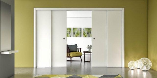 Porte scorrevoli grandi: per dividere o lasciare aperti due ambienti