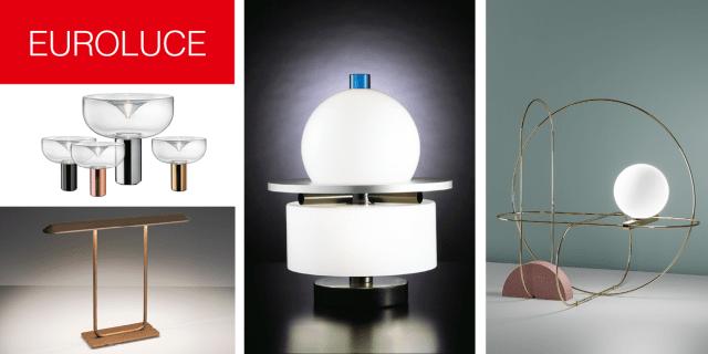 Lampade da tavolo: illuminazione scultorea a Euroluce 2017