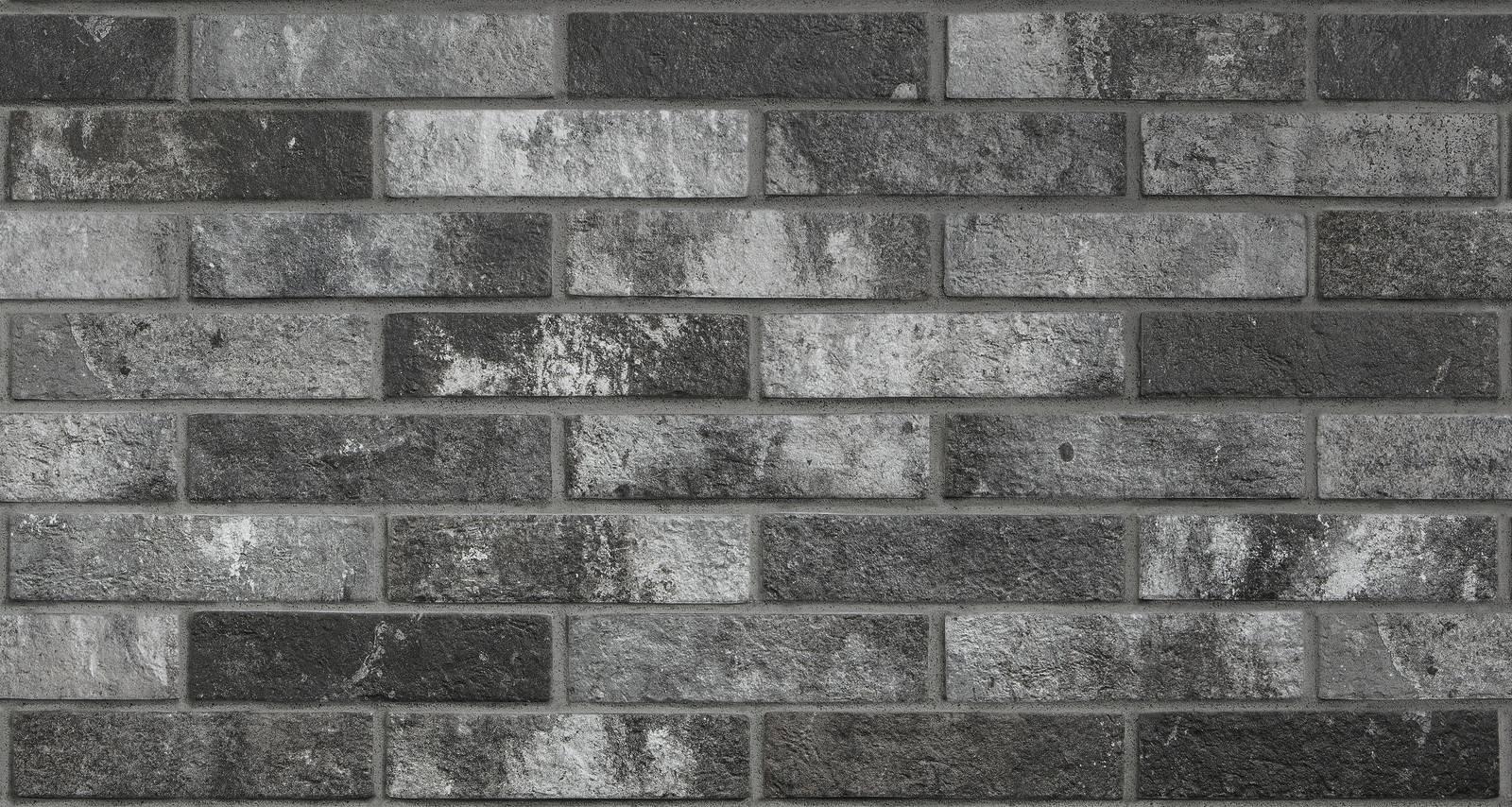 Piastrelle effetto mattoncini finest gres effetto pietra ricostruita e laterizio scopri mattoni - Piastrelle effetto mattone ...