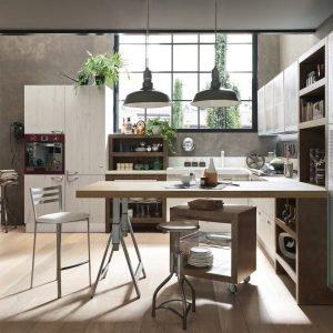 Cucine industriali: scegliere i mobili, le lampade, le piastrelle e ...