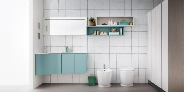Soluzioni per un bagno piccolo piccolo - Cose di Casa