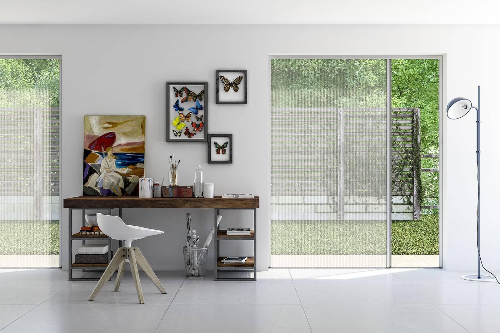 """Zanzariere MV Line: resistenti e quasi """"invisibili"""" grazie al design minimale"""