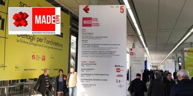 MADE Expo appuntamenti: da oggi all'11 marzo, convegni e presentazioni in fiera