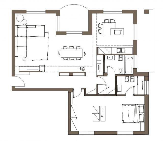 Progetto cucina 3d od48 pineglen for Progettare casa 3d