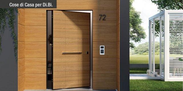 Di.Big, la porta blindata con apertura a bilico che coniuga sicurezza e design anche nelle grandi dimensioni
