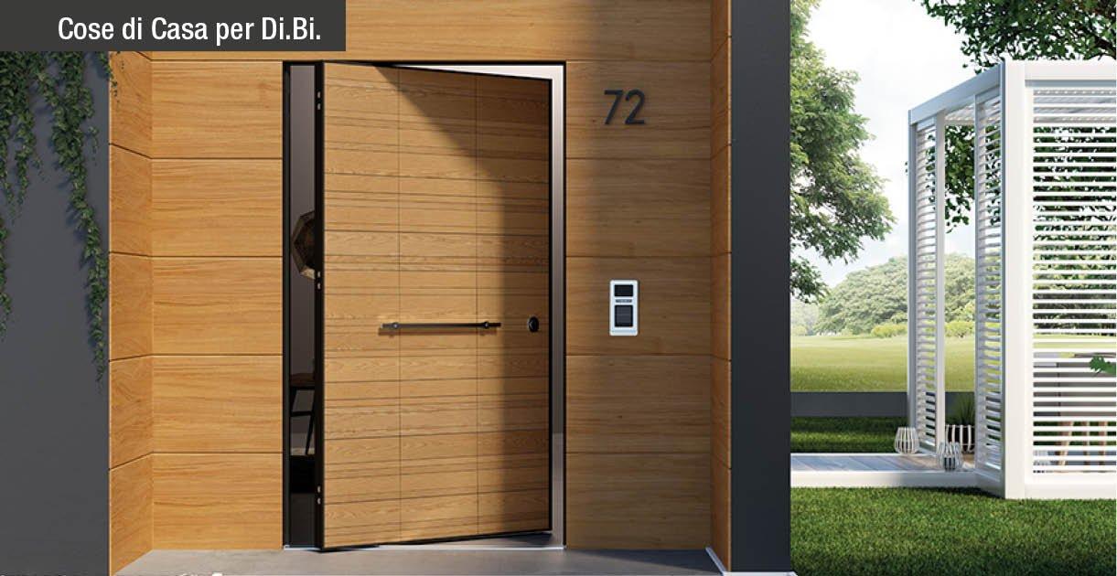 Di big la porta blindata con apertura a bilico che - Dimensioni porta ...