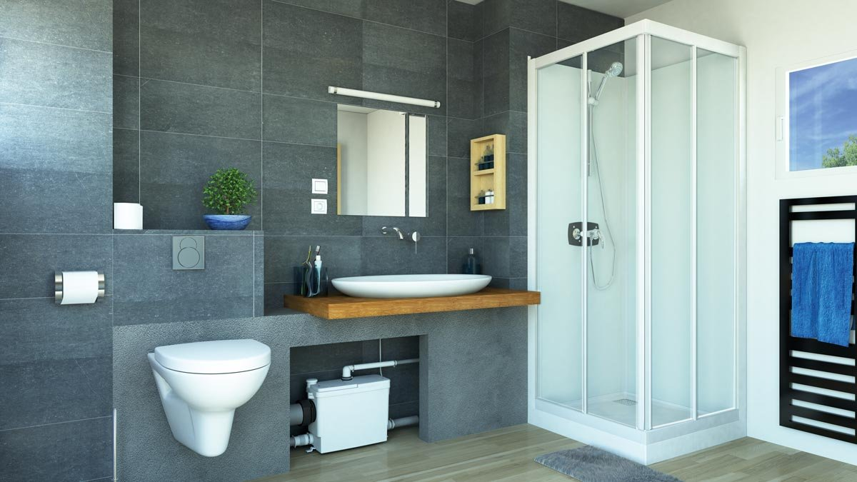 Ricavare un bagno in pi dove si vuole cose di casa - Bagno senza scarico ...