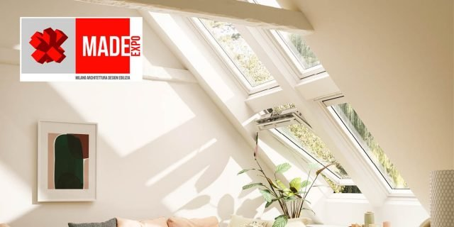 Finestra per tetti bianca, in legno: più luce, più glamour